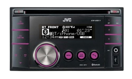 JVC KW-XR811 Double DIN Bluetooth/iPod/USB/Variable Illumination