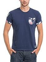 JACK WILLIAMS Camiseta Manga Corta (Azul Oscuro)