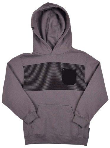 Quiksilver Big Boys Navy Fleece Sweatshirt Size 12 Medium