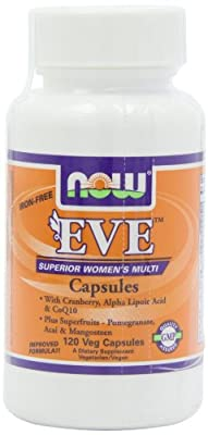 Eve Superior Women's Multi by NOW - 120 vcaps
