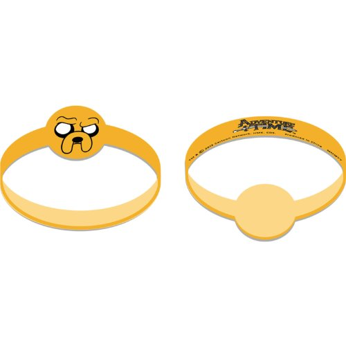 Adventure Time Favor Wristbands-4 pieces - 1