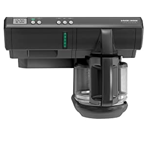 Black & Decker SDC740B SpaceMaker 12-Cup Coffeemaker, Black