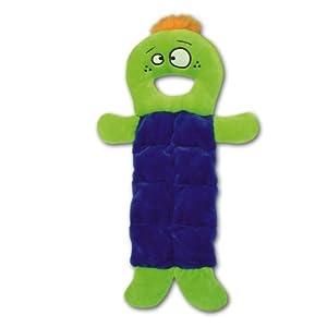 Kyjen Plush Puppy Bonkers Funnie Squeaker Mat Dog Toy