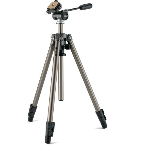 Velbon Sherpa 600R Tripod with 3-Way Pan Head Kit