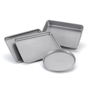 Farberware Nonstick Bakeware 4-Piece Toaster Oven Set by Farberware