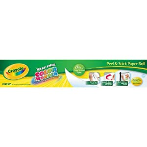 Crayola color wonder paper roll 24 sheets for Crayola color wonder 30 page refill paper