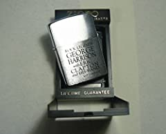 Zippo 非売品 BEATLES (ROCK LEGENDS GEORGE HARRISON with ERICK CLAPTON and HIS BAND)