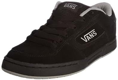 Vans M Churchill, Baskets mode homme - Noir (Black/Mid Grey), 38.5 EU