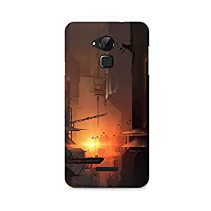 TAZindia Printed Hard Back Case Cover For Coolpad Note 3