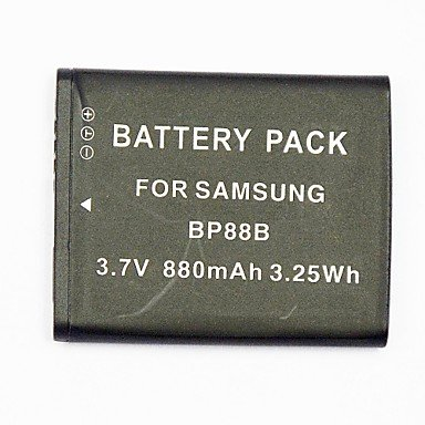 Yyt- 880Mah Digital Camera Battery Bp-88B For Applicable Samsung Mv900 Mv900F