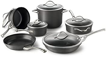 Calphalon 11-Piece Nonstick Cookware Set + $60.00 Kohls Cash