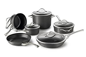 Calphalon Contemporary Hard-Anodized Aluminum Nonstick Cookware, Set,