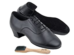 Men Ballroom Dance Shoes from Very Fine C915108 with Shoes Brush 1.5\
