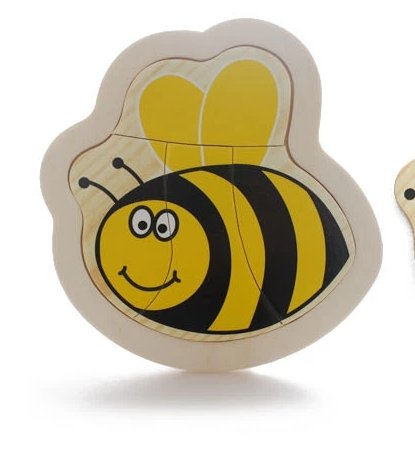 Thinkmax? Wooden Jigsaw Puzzle Toy Bee Model front-77360