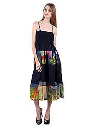 Selfiwear SW-502 Multicoloured Dress