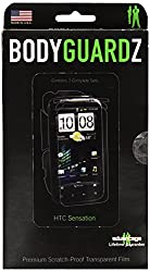 BodyGuardZ Full Body Protection for HTC Sensation - Retail Packaging - Clear