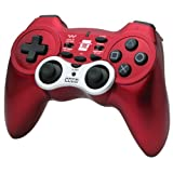 Hori Wireless Turbo 3 Controller - Red (PS3)by Hori (U.K.) Ltd.