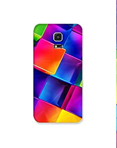 Samsung Galaxy S5 Mini ht003 (113) Mobile Case from Mott2 - Multicolor Box Cubes (Limited Time Offers,Please Check the Details Below)