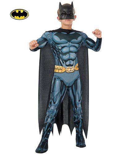 Rubies DC Comics Deluxe Muscle-Chest Batman Costume