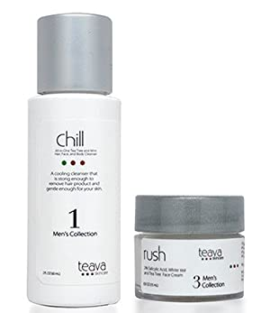 Men's Skincare Starter Set - Cooling Cleanser and Moisturizer