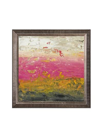 Lisa Carney Apricot Haze Framed Giclée On Canvas