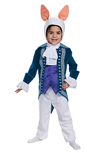 White Rabbit Toddler Deluxe Alice Through The Looking Glass Movie Disney Costume