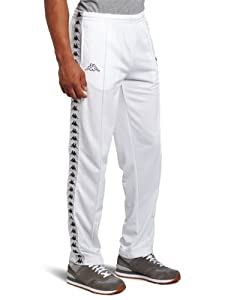 Kappa Men's Banda Astoria Pant, White, XXX-Large