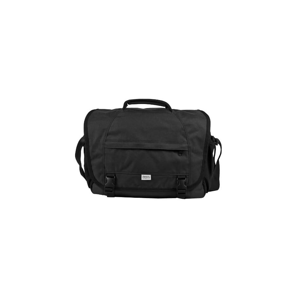 Brentley Black Messenger Bag
