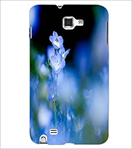PrintDhaba Beautiful Flowers D-1206 Back Case Cover for SAMSUNG GALAXY NOTE 1 (Multi-Coloured)