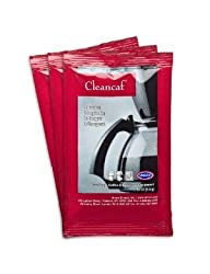 Cleancaf Coffee Maker and Espresso Machine Cleaner and Descaler 3pk made by Urnex