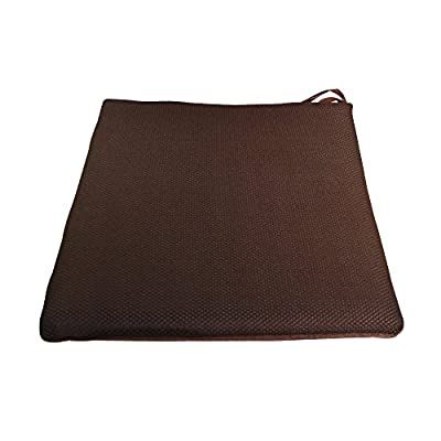 Excellent Memory Foam Seat Cushion Slow Rebound Saddle for Home Office (Brown Blue Gray Pink Purple Red Rose )
