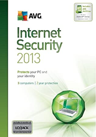 AVG Internet Security 2013 3-User 2-Year