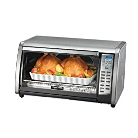 Black & Decker Stainless Steel Digital Convection Oven Toaster