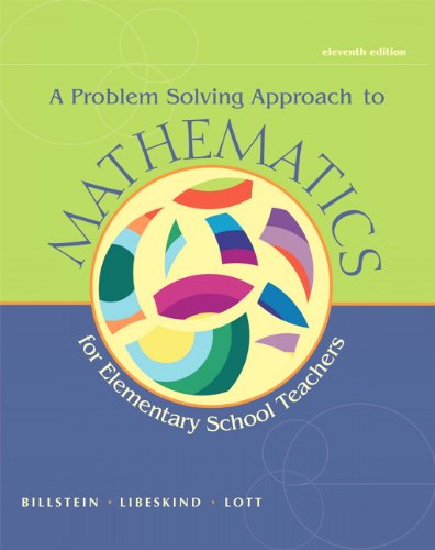 A Problem Solving Approach to Mathematics for Elementary School...