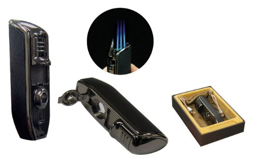 olympus-triple-torch-lighter-with-cigar-punch-blade