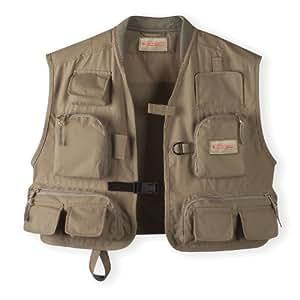 Redington blackfoot river fly fishing vest for Fishing vest amazon