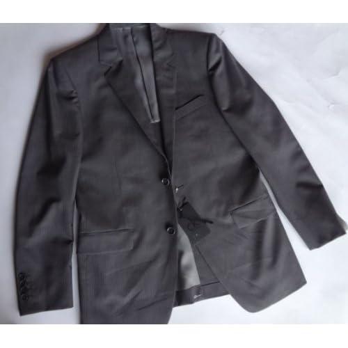 カルバンクライン Calvin Klein テーラードジャケット グレー (38(L))