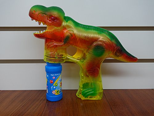 Dinosaur Bubble Gun with LIGHT and SOUND!!