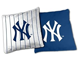 MLB New York Yankees X-Large Bean Bag Toss Corn Hole Game by Wild Sports