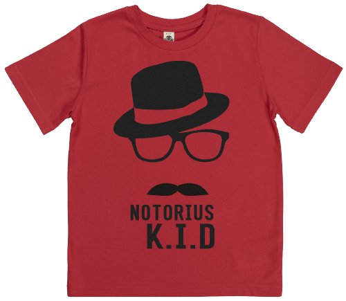 Phunky Buddha - Notorius K.I.D Kids Tshirt 11-12 Yrs - Red back-590741