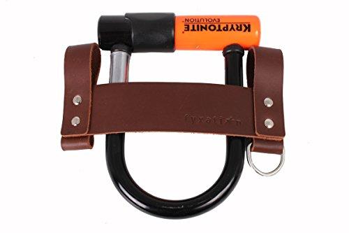 Fyxation Leather U-Lock Holster, Brown