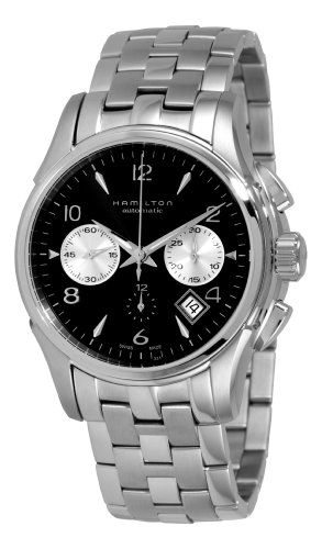 Hamilton-Mens-H32656133-Jazzmaster-Black-Chronograph-Dial-Watch