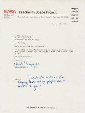 hillary clinton nasa letter - photo #19