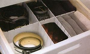 Organiseur de tiroir amovible cloison compartiment for Organiseur tiroir cuisine