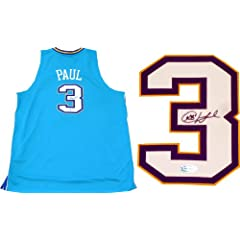 Chris Paul Autographed New Orleans Hornets Authentic Jersey by Hollywood Collectibles