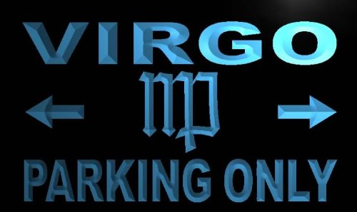 Virgo Parking Only LED Sign Neon Light Sign Display m444-b(c)