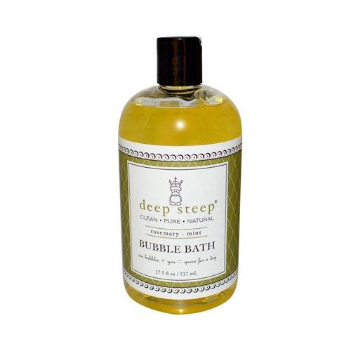 Deep Steep Bubble Bath Rosemary Mint - 17 Fl Oz