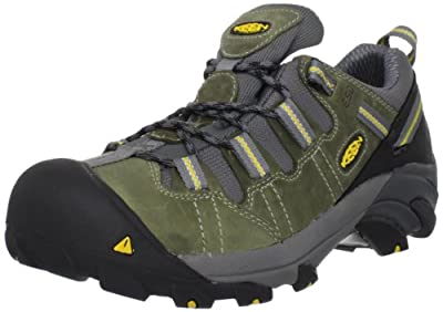 Keen Utility Men's Detroit Low ESD Soft Toe Work Boot