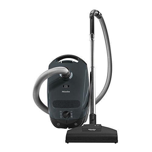 Great Deal! Miele Classic C1 Capri Canister Vacuum, Lava Grey