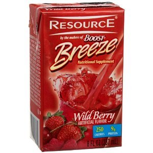 Resource Breeze Wildberry 8Oz Brikpaks 27/Case ** 4 Case Special**